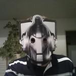 """Ich als """"Cyberman"""""""