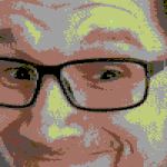 """""""Der irre Blick"""" in der C64-Version"""
