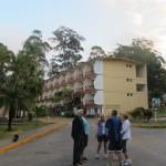 Das Hauptgebäude des Hotels